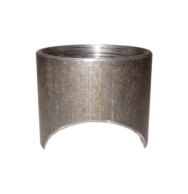 Socket with circular milled end