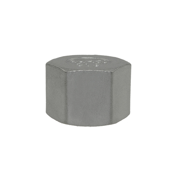 Cap made of stainless steel