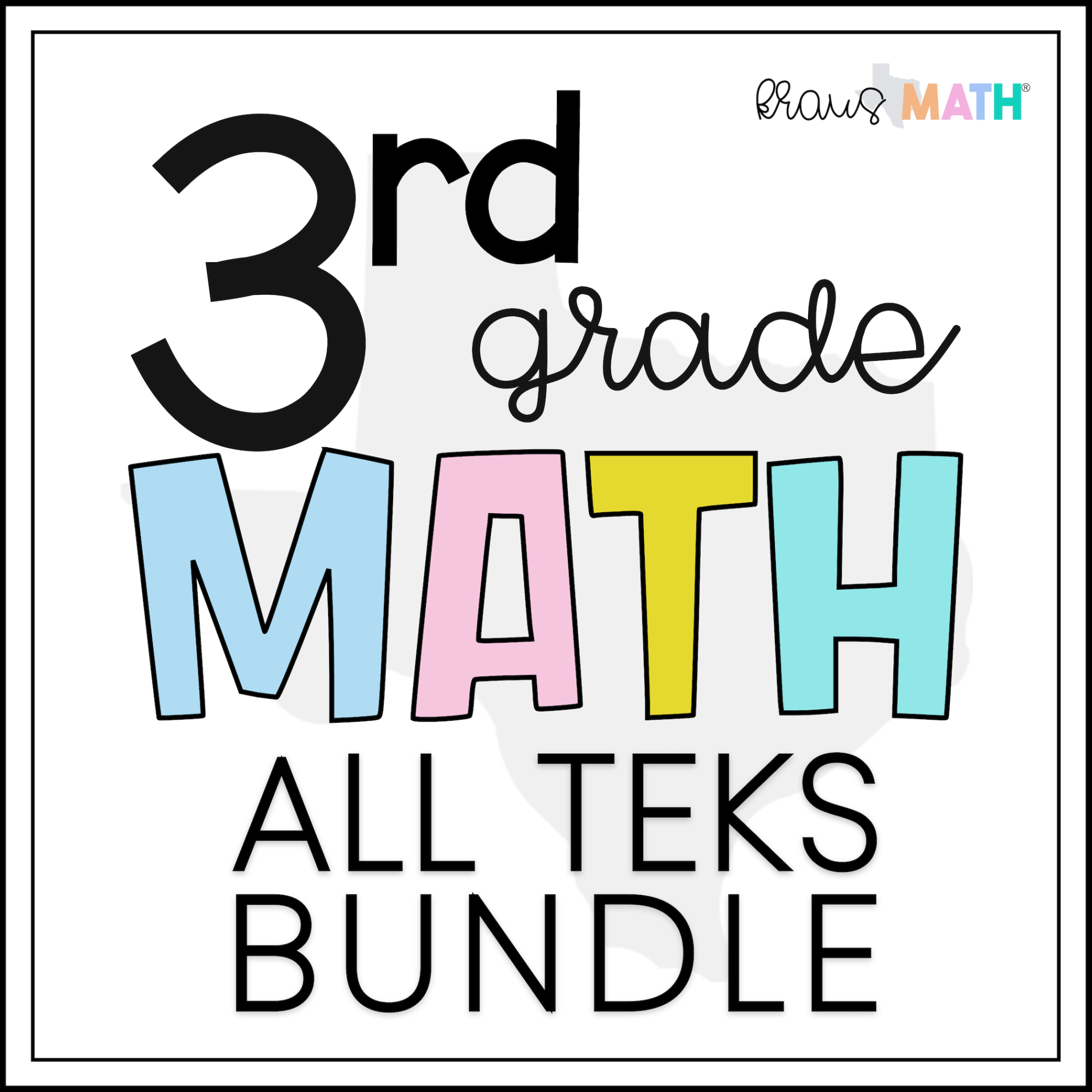 hight resolution of 3rd Grade Math STAAR Test Prep Task Cards   ALL TEKS Bundle   Kraus Math
