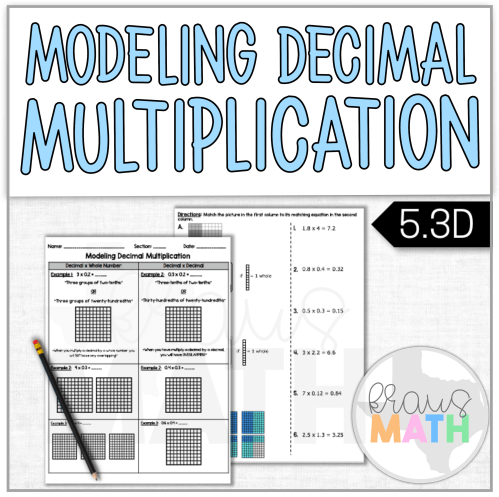 small resolution of Modeling Decimal Multiplication Notes \u0026 Worksheet (TEKS 5.3D)   Kraus Math
