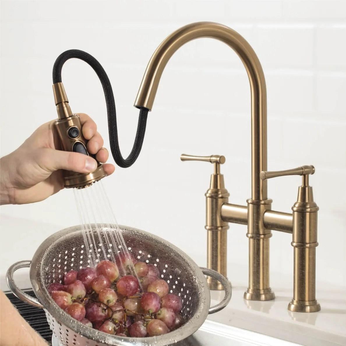 bridge faucets traditional design