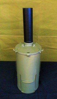 """12"""" CHIMNEY PIPE - for WWII GERMAN BUNKER STOVE"""