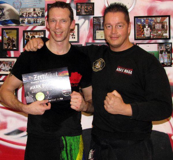Mark Buchholz - Krav Maga Street Defence Master Instructor Black Belt DAN 3