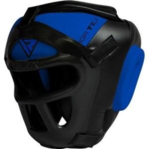 RDX Krav Maga Kopfschutz blau