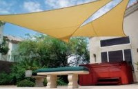 The Cheapest Way to Shade Your Patio - Kravelv