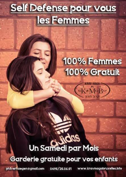 Kravmaga 100 % femmes 100 % gratuit – 21/09/19 –