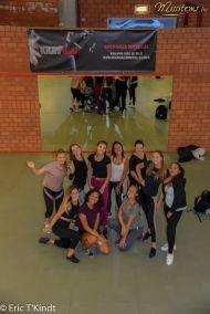 krav maga bruxelles cours pour les candidates miss belgique photo de groupe cours auto défense femme