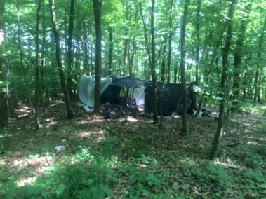 stage survie krav maga bruxelles enfants et parants kids adultes construction des tentes dans les bois