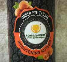 Roots and Herbs Under Eye Tailam