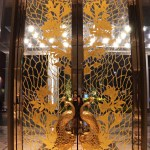Indore Marriott Gold Lobby Door