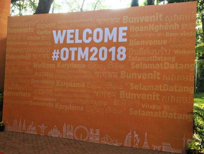 OTM2018 Entrance