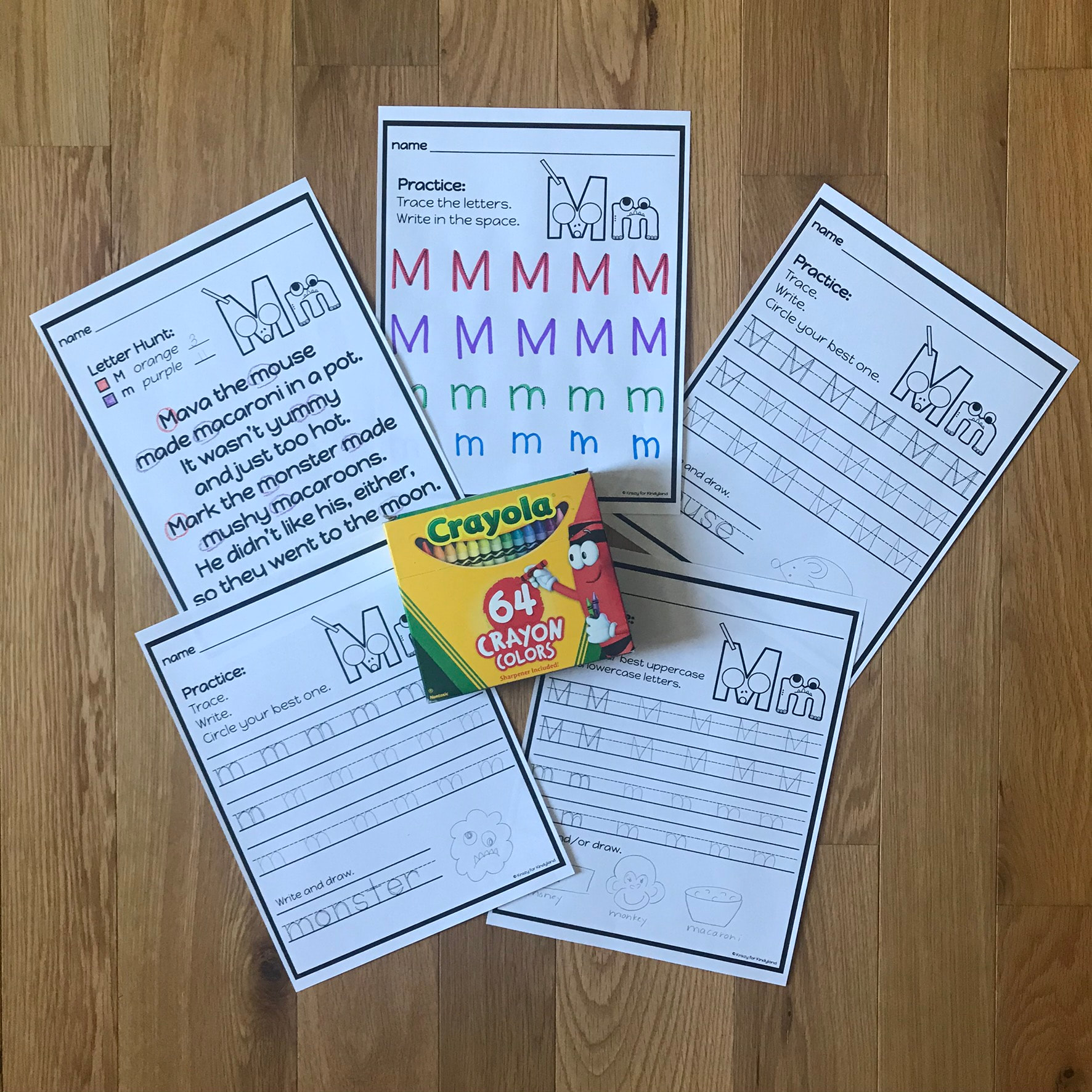 Letter Poster Handwriting Worksheet And Phonics For