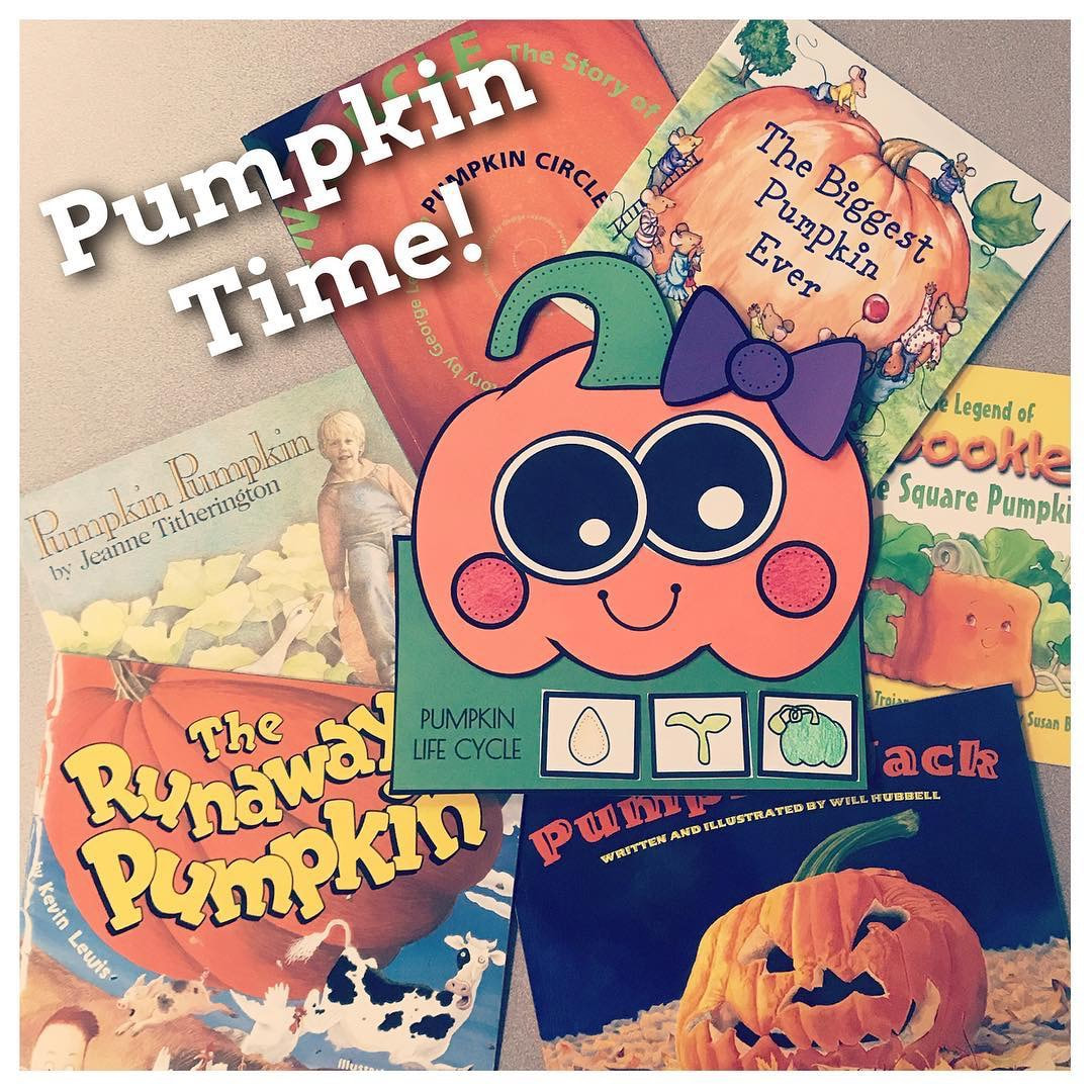Pumpkin Life Cycle Arts And Crafts For Kindergarten