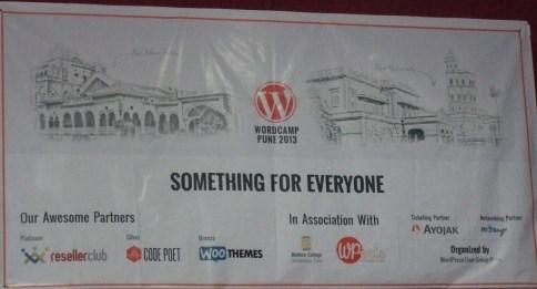 Wordcamp Pune 2013