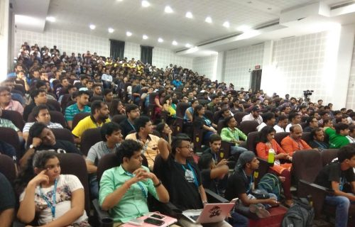 Full house for Panel Discussion