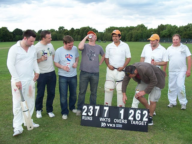 Remember this? A classic match against the Battersea Badgers