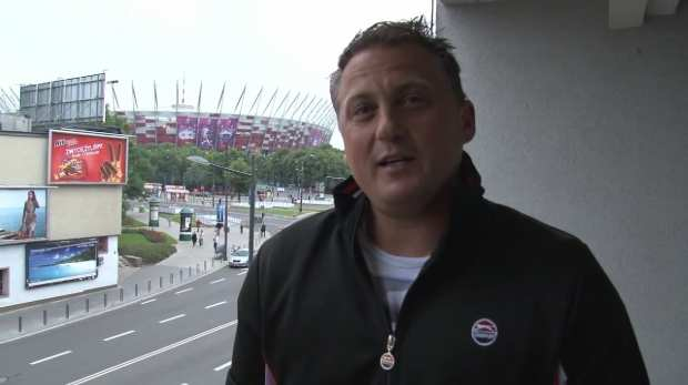 Ay-up Goughie! England legend wishes King's Road good luck