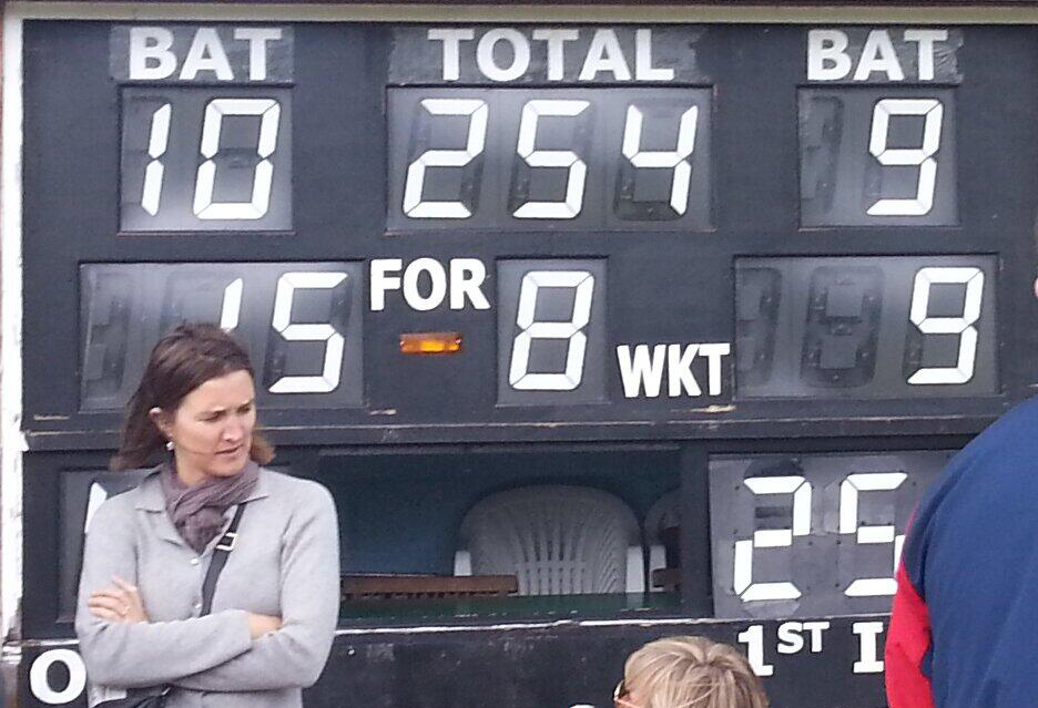 Would Kew believe it? King's Road humbled again as Glover is banned from bowling and Aldridge injures a finger