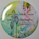 Miroir de poche, citation de Julien Green