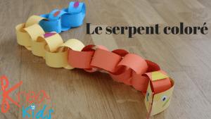 serpent en papier