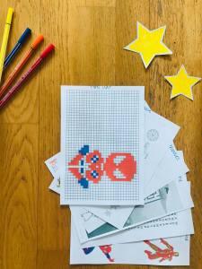Carnet de jeux marvel pour enfant