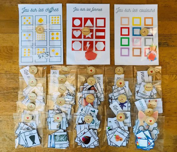Kit DIY Pack complet carte de nomenclature