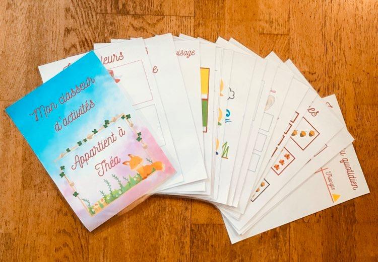 PDF Quiet book à imprimer