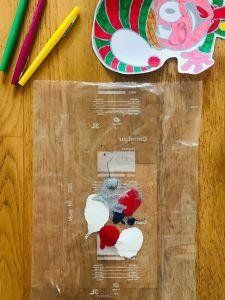 Peinture propre pour enfant
