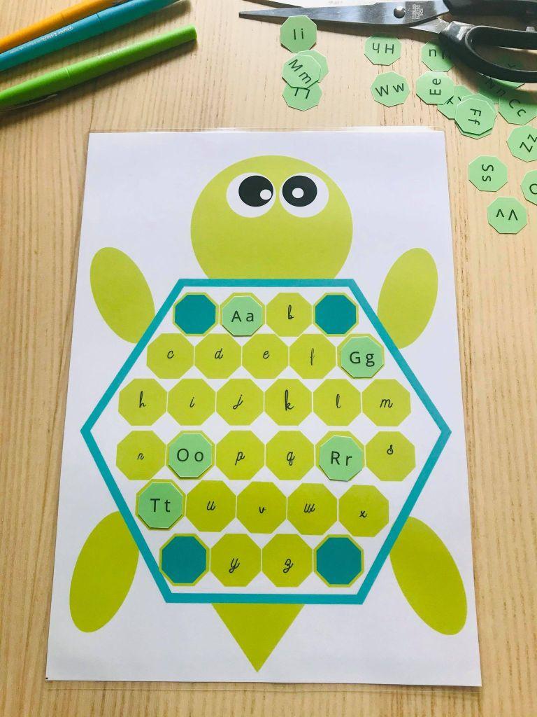 Jeu pour apprendre l'alphabet