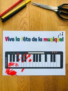 Activité manuelle pour la fête de la musique