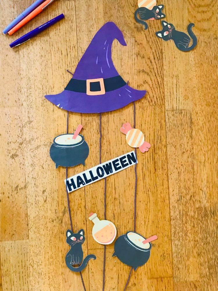 Décoration halloween facile