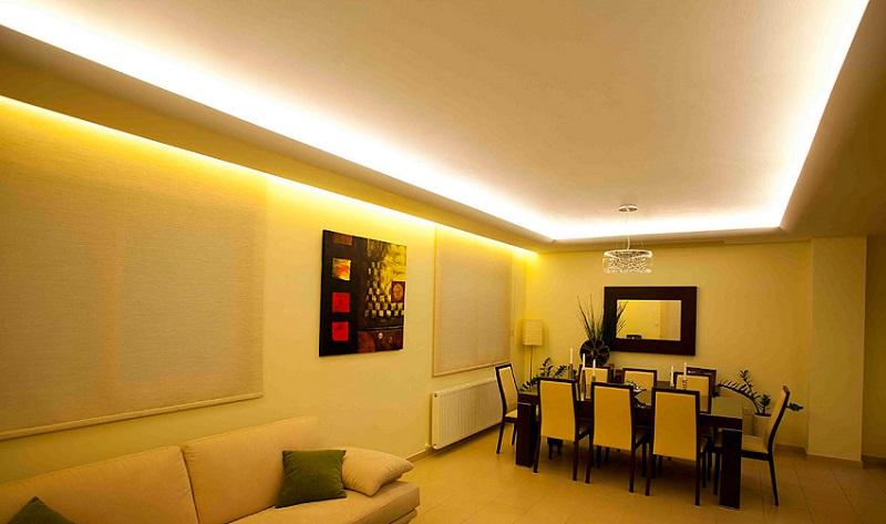 Qu iluminacin led usar en cada habitacin de tu hogar II  krealo