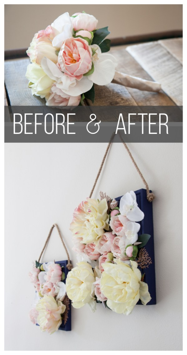 Bouquet Box Before and After