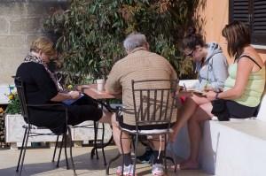 Skrivövningar, Skrivresa Italien, Respons, Skrivkurs Kreationslotsen, Respons Jeanette NIemi