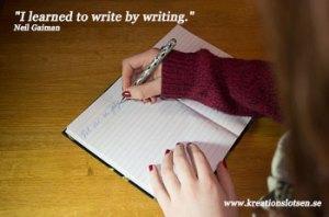 Kreationslotsen, Skrivcoach, Workshop Kreativt skrivande