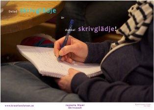 Kreationslotsen, skrivglädje, Jeanette Niemi