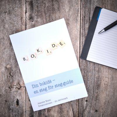 Din bokidé - en steg för steg guide av Jeanette Niemi, Kreationslotsen - din skrivcoach
