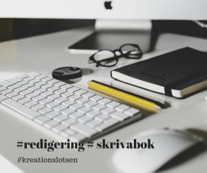 Kreationslotsen, skrivcoach. skriva bok, redigering