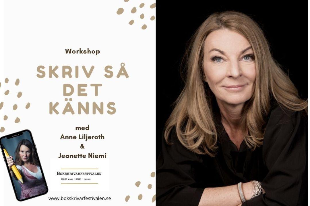 Anne Liljeroth i Bokskrivarfestivalen WS
