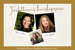 Bokrskrivarfestivalen2021 - författarens kunskapsresa