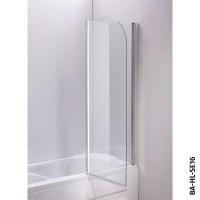 Duschwand (Badewannenaufsatz), verschiedene Designs