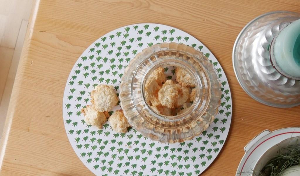 Kokosmakronen nach Omas Berliner Rezept ohne Oblaten