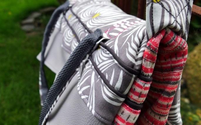 SweetBigbag von Sweet tings for little Kings mir Reißverschluss und innenliegender Reißverschlusstasche