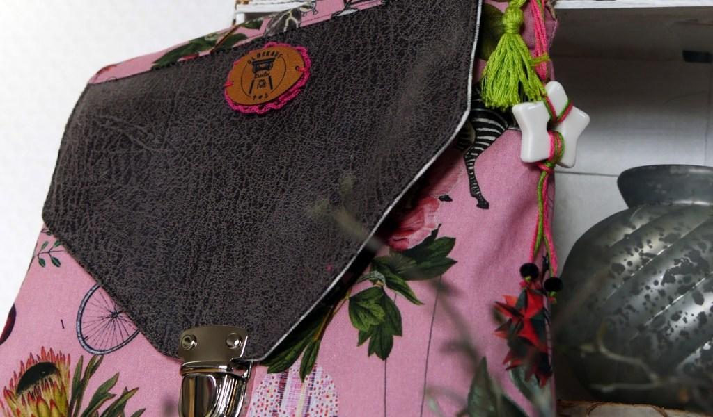 fantastisch praktische Ordnungshelfer nähen von Frau Fadenschein Kosmetiktasche mit Pinselfach