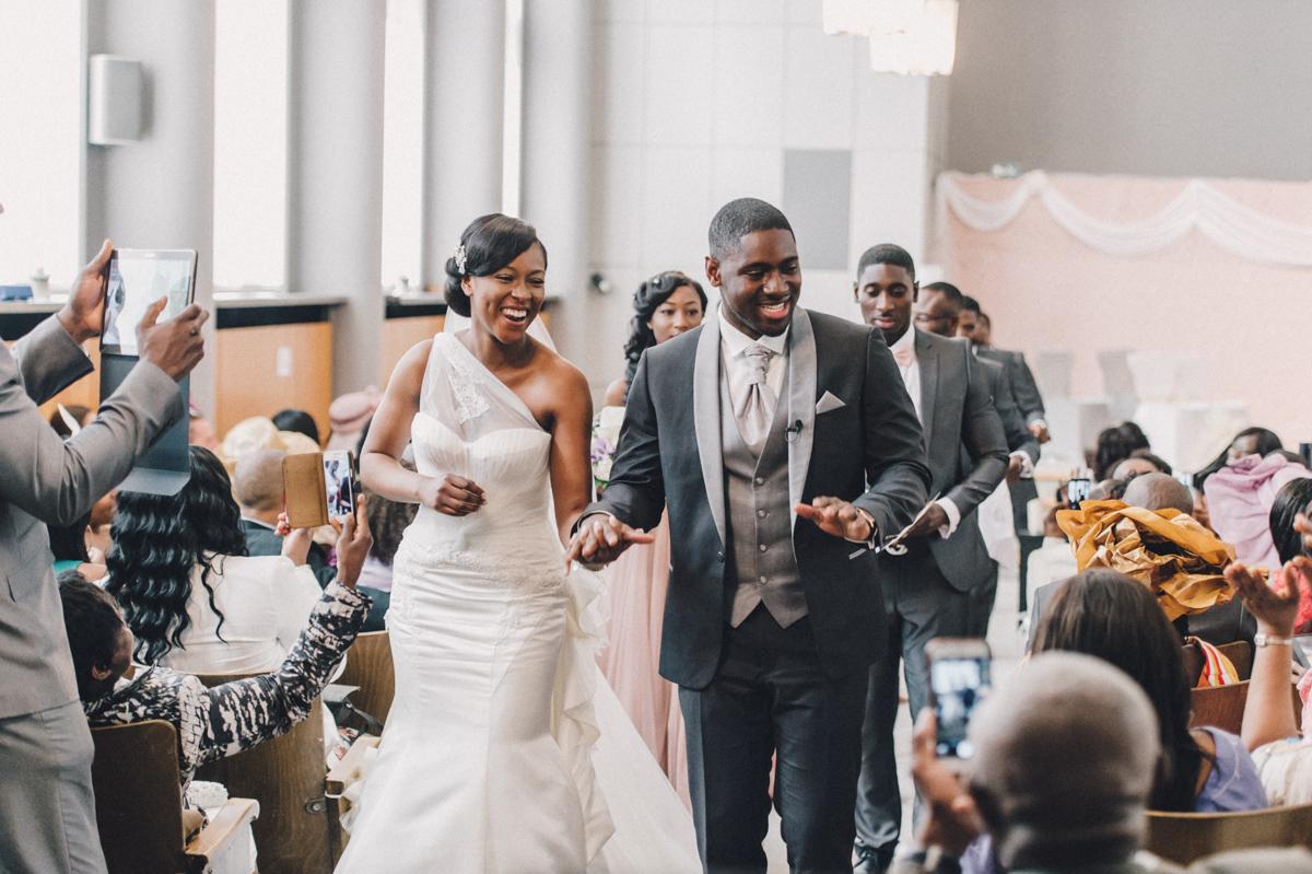 Melissa  Michael afrikanische Hochzeit Foto und Film in