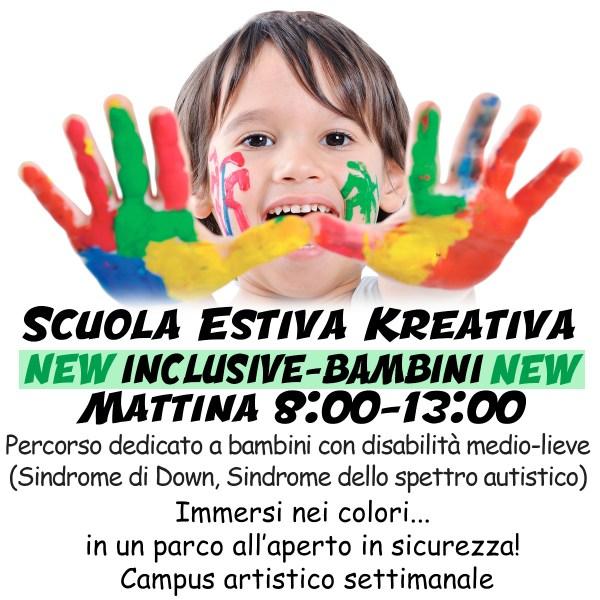 ScuolaEstivaBambini2021 Mattina INCLUSIVE - Kreativa