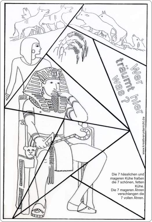 Josef deutet die Träume des Pharao The Dreams of Pharao