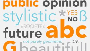 Avenir Next Pro font - Kreativ Font
