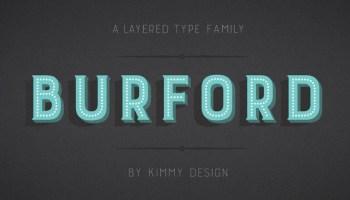 Bourton font - Kreativ Font