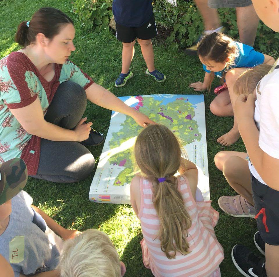 GeoCaching im Biosphärenreservat Drömling - kreativer Kindergeburtstag